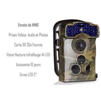 Caméra autonome GSM