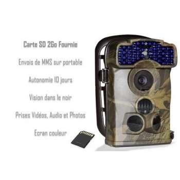 Caméra GSM carte SD