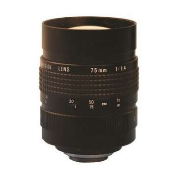 Objectif 75 mm avec un...