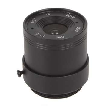 Objectif 6 mm avec angle de...