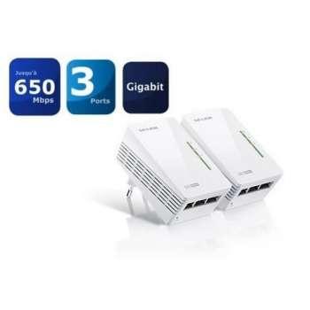 Lot de 2 CPL 600Mbps