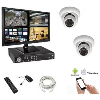 Kit vidéo surveillance 2...