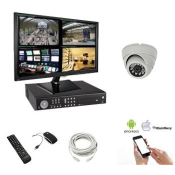 Pack vidéo surveillance 4...