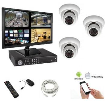 Kit vidéosurveillance IR -...