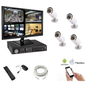 Pack vidéosurveillance - 4...