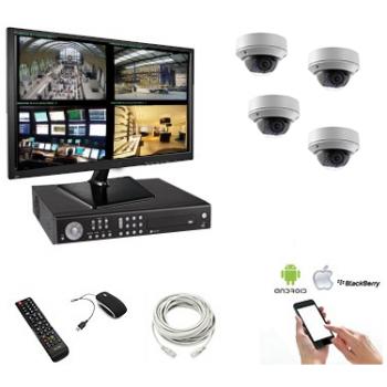 Kit vidéosurveillance 4...