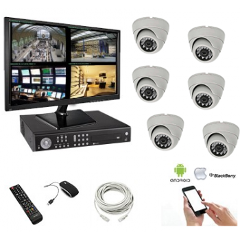 Kit vidéosurveillance  6...