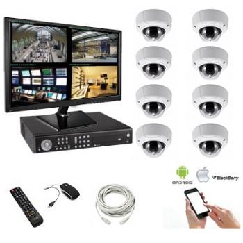 Pack vidéosurveillance 8...