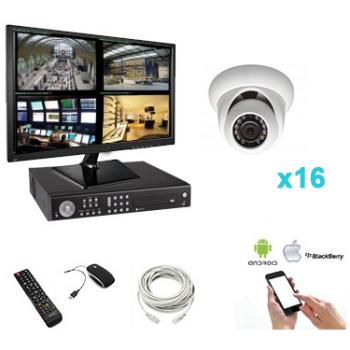 Kit vidéosurveillance 16...