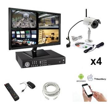 Kit Caméra IP extérieure...