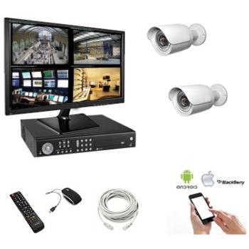 Pack vidéo surveillance 2...