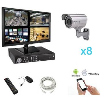 Kit vidéosurveillance 8...