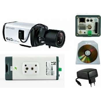Caméra IP PoE 3 Mégapixels