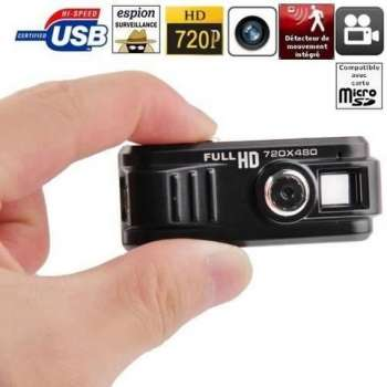 Mini caméra espion HD 720P...